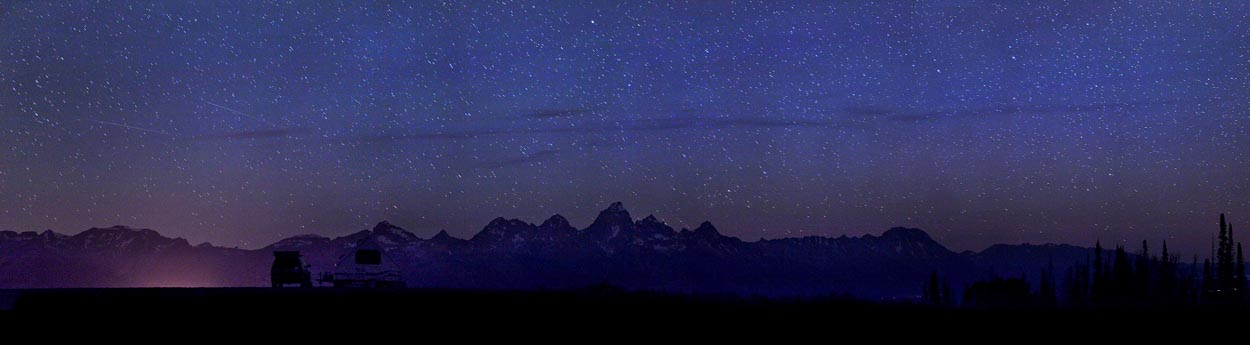 Teton Star Gazing